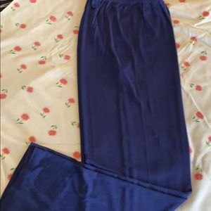 Made in Heaven royal blue pants